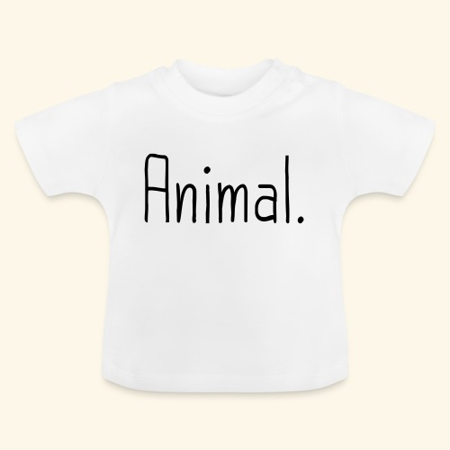 Tier Animal Tierliebe Tierschutz - Baby T-Shirt