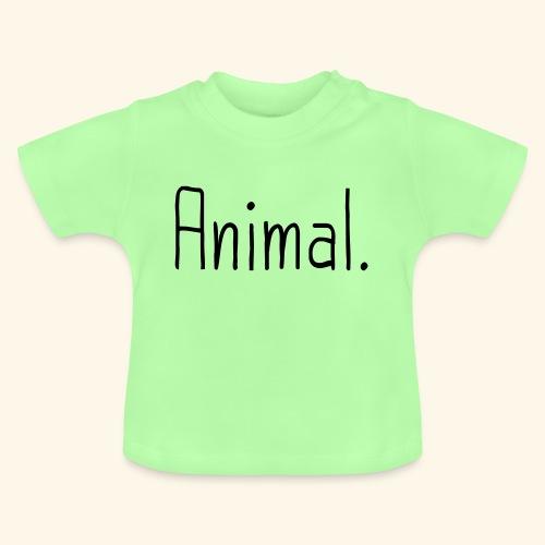 Tier Animal Tierliebe Tierschutz - Baby T-Shirt