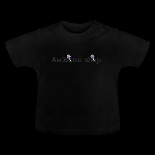 awesome logo - Maglietta per neonato