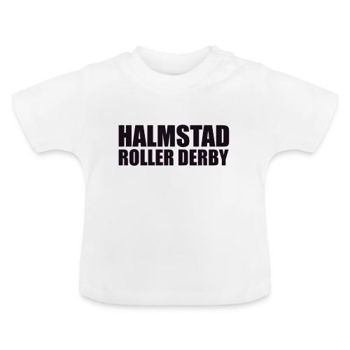 textlogga L - Baby-T-shirt