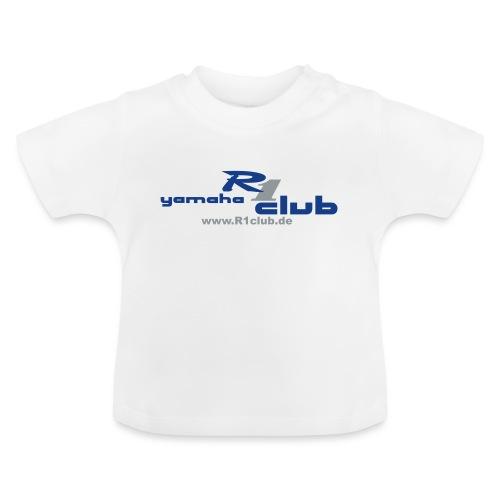 R1club Logo blau - Baby T-Shirt