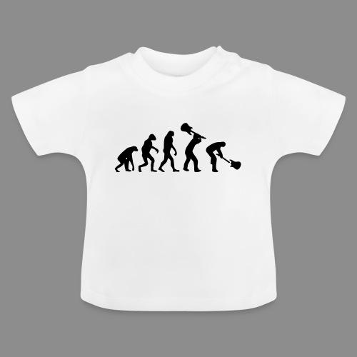 Evolution Rock - Camiseta bebé