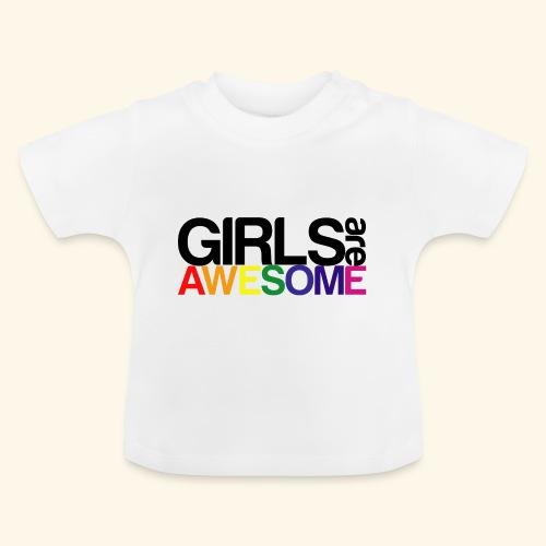 Girls are awesome - Koszulka niemowlęca