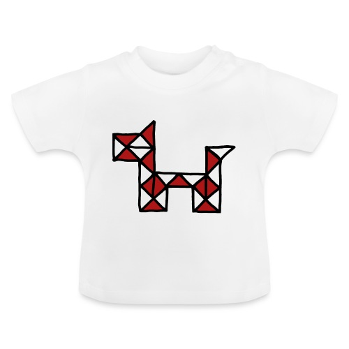 Dog pet twist puzzle toy best friend - Baby T-Shirt