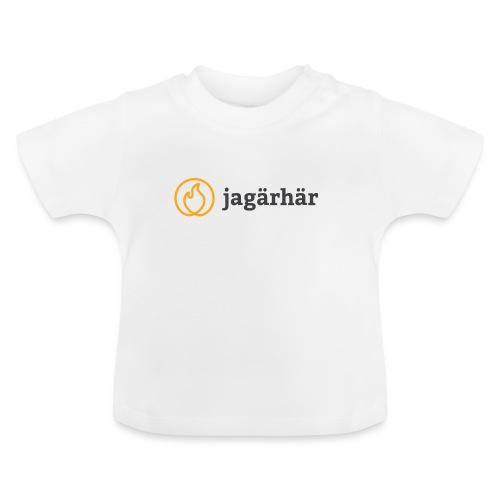 #jagärhär - Baby-T-shirt