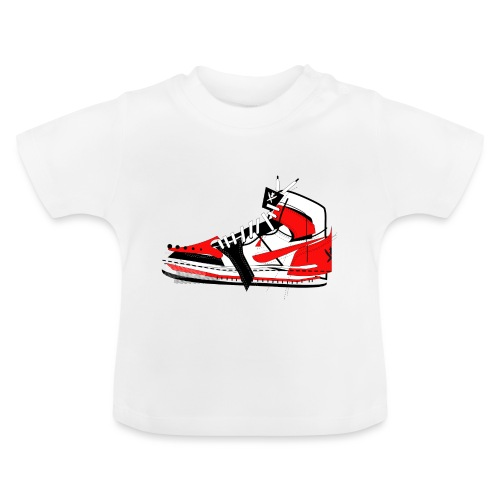 Destrukt my Shoes by MiZAl Touch Concept - Koszulka niemowlęca