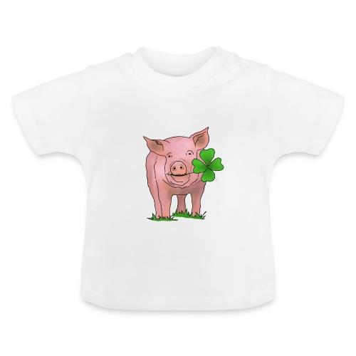 Glücksschwein - Baby T-Shirt