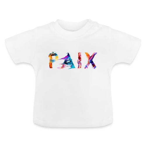 Paix - T-shirt Bébé