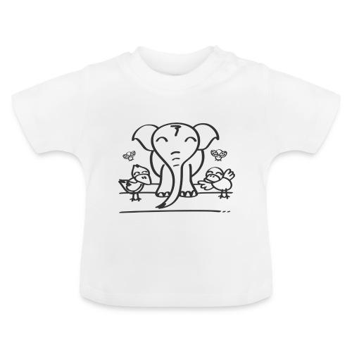 78 elephant - Baby T-Shirt