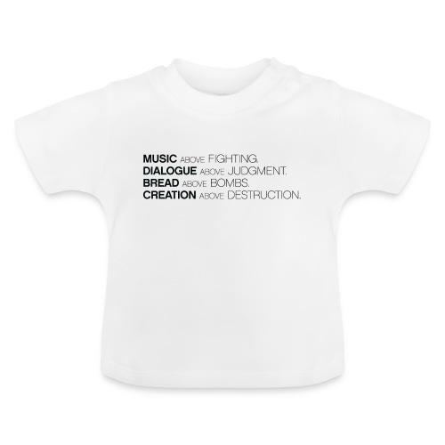 slogan png - Baby T-shirt