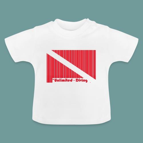 flag_barre_ud - T-shirt Bébé