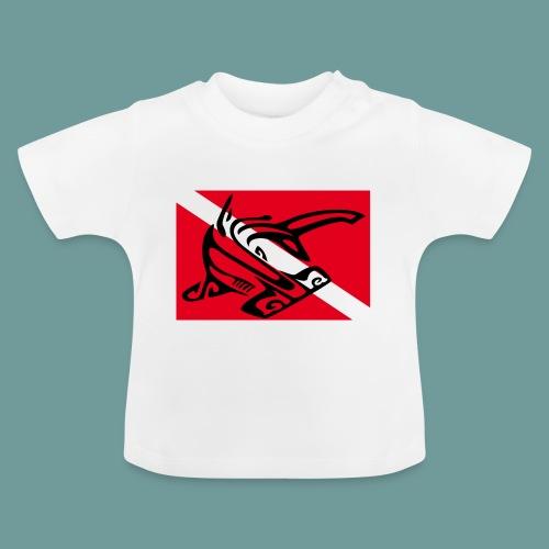 flag_ham_shark - T-shirt Bébé