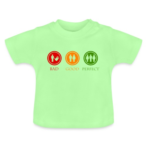 Bad good perfect - Threesome (adult humor) - Baby T-shirt