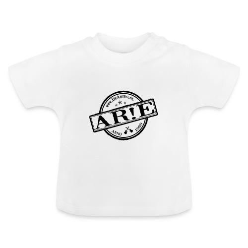 Backdrop AR E stempel zwart gif - Baby T-shirt