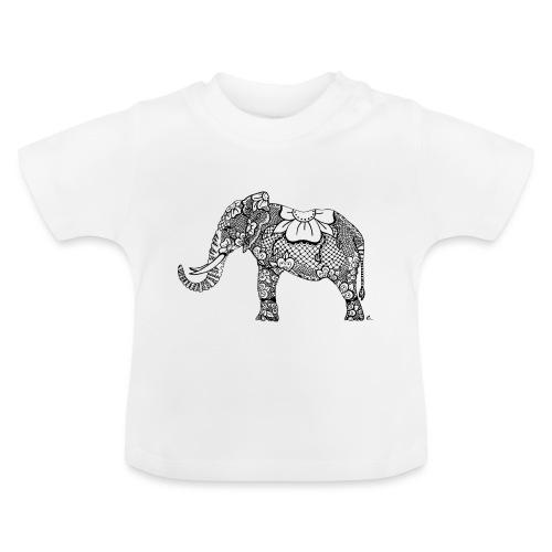 Éléphant oriental - T-shirt Bébé