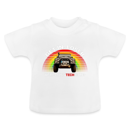 We're Doing Tech Stuff - Baby T-Shirt