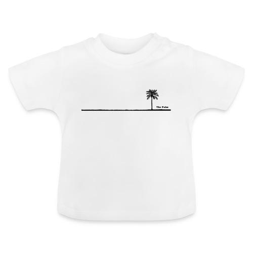 Palm dubai beach black and white - Maglietta per neonato