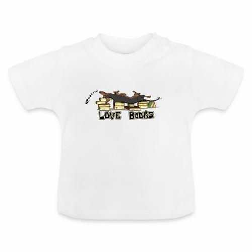 Love books - Koszulka niemowlęca