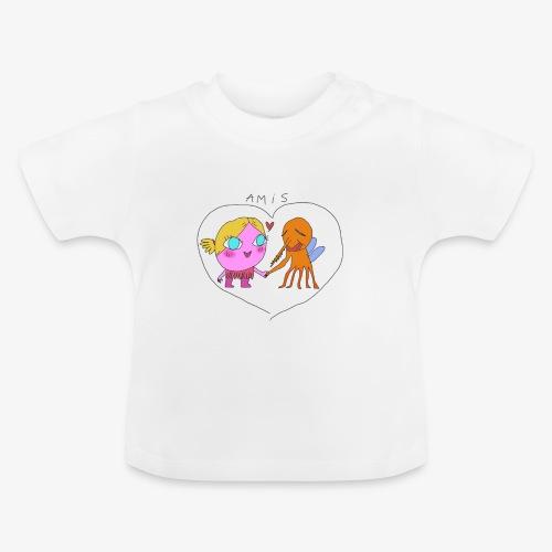 les meilleurs amis - T-shirt Bébé