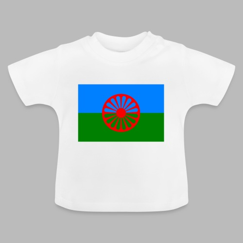 Flag of the Romani people - Baby-T-shirt