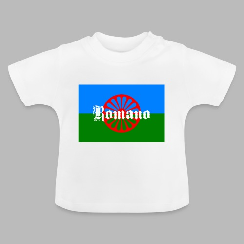 Flag of the Romanilenny people svg - Baby-T-shirt