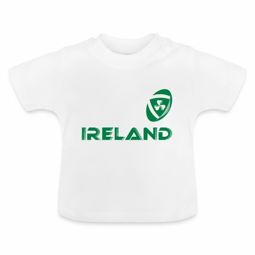 Rugby Ireland Ball - Baby T-Shirt