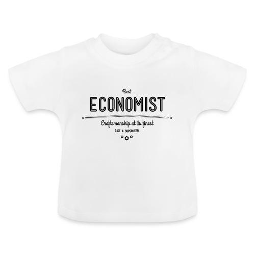 Bester Ökonom - wie ein Superheld - Baby T-Shirt