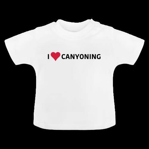 iLoveCanyoning - Baby T-Shirt