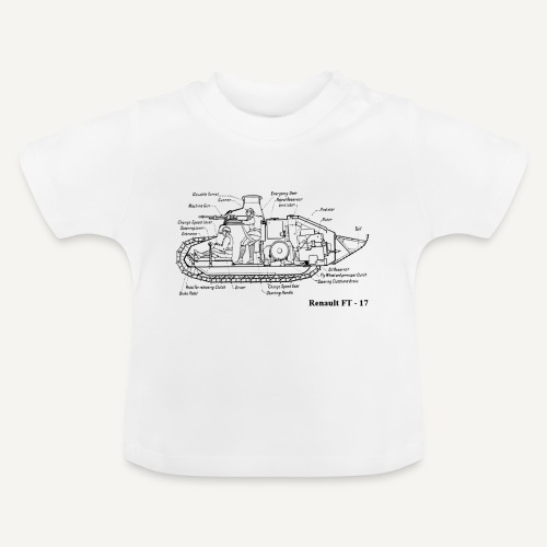 ft17 - Koszulka niemowlęca