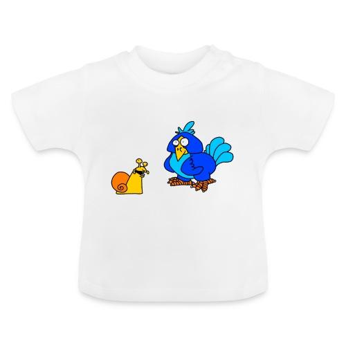 Schnecke und Vogel von dodocomics - Baby T-Shirt