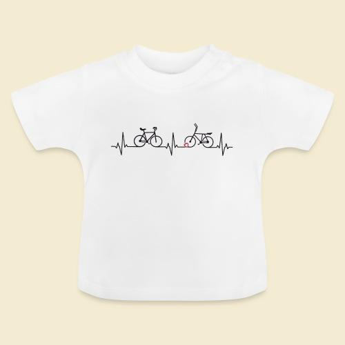 Heart Monitor Kunstrad & Radball - Baby T-Shirt
