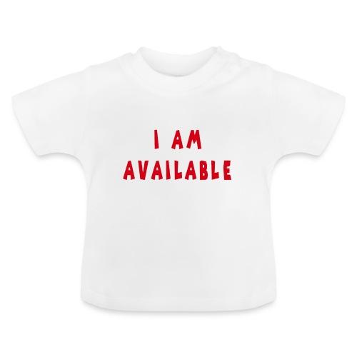 Am Available - Vauvan t-paita