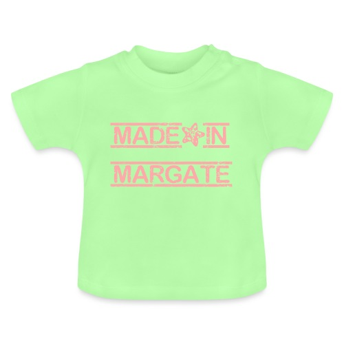 Made in Margate - Pink - Baby T-Shirt
