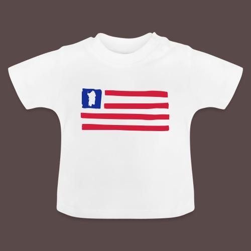 United States of Sardinia - orizzontale - Maglietta per neonato