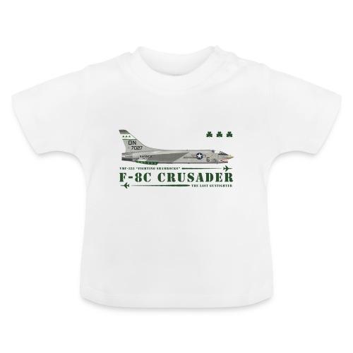 F-8C Crusader VMF-333 - Baby T-Shirt