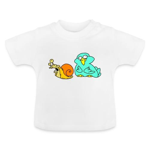 Schnecke und Vogel Nr 3 von dodocomics - Baby T-Shirt