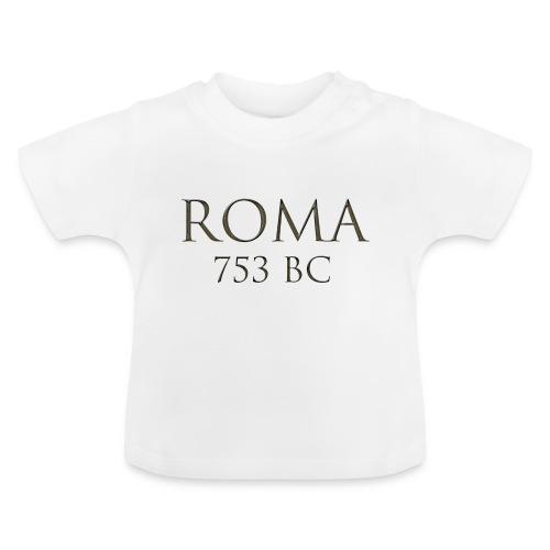 Nadruk Roma (Rzym) | Print Roma (Rome) - Koszulka niemowlęca