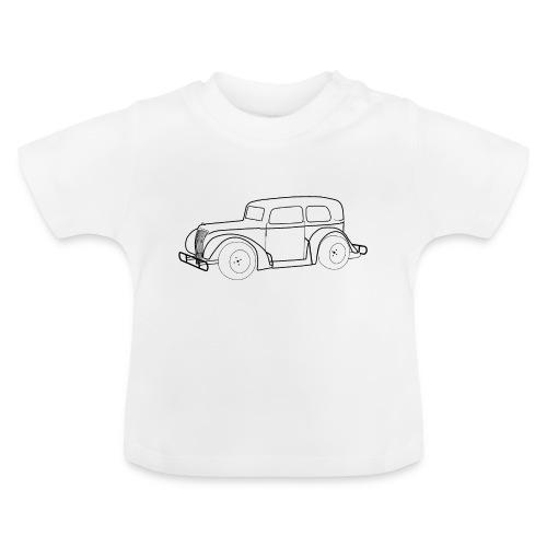 Racing Car schwarz - Baby T-Shirt