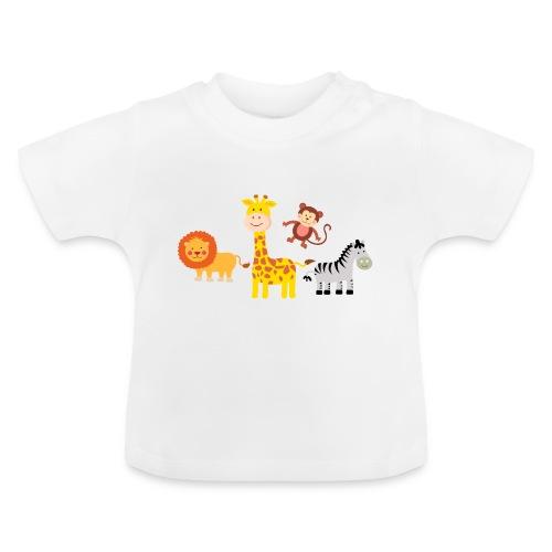 Safari - Djur - Baby-T-shirt