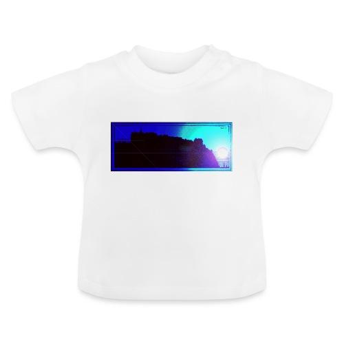 Silhouette of Edinburgh Castle - Baby T-Shirt
