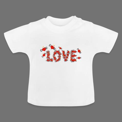 Flying Hearts LOVE - Vauvan t-paita