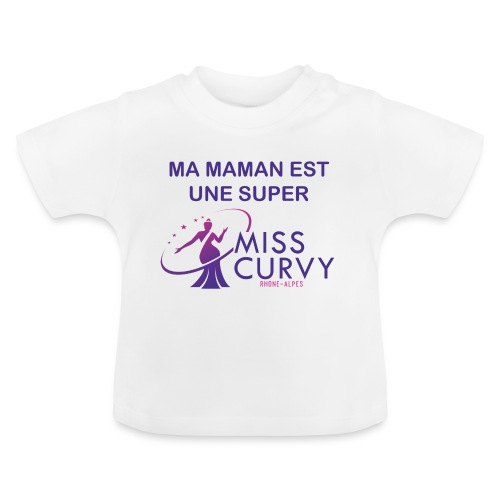 MISS CURVY Ma maman - T-shirt Bébé