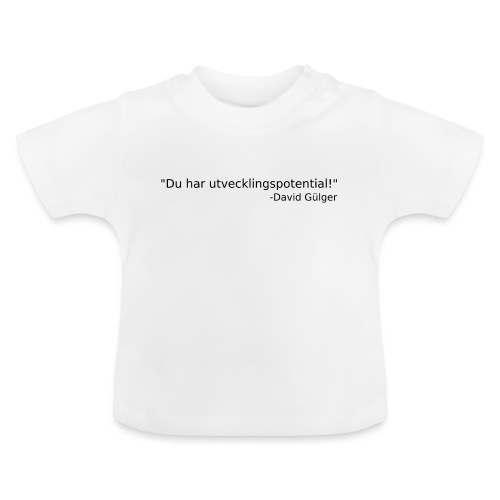 Ju jutsu kai förslag 1 version 1 svart text - Baby-T-shirt
