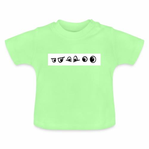 graffiti caracter augen - Baby T-Shirt