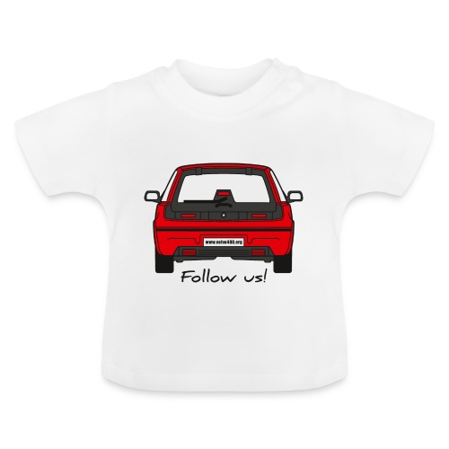 follow us - T-shirt Bébé