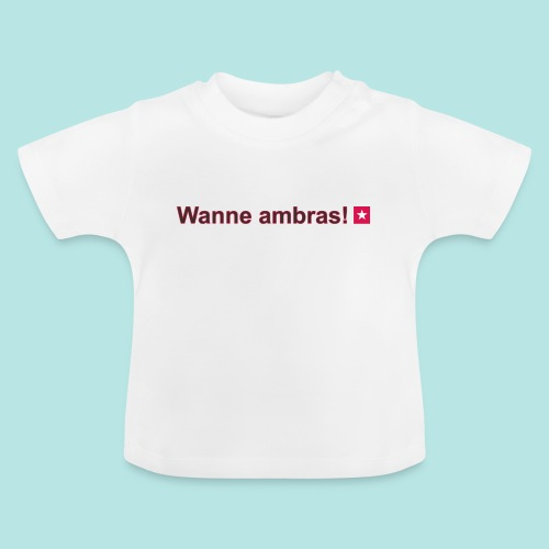 Wanne ambras mr def b hori def - Baby T-shirt