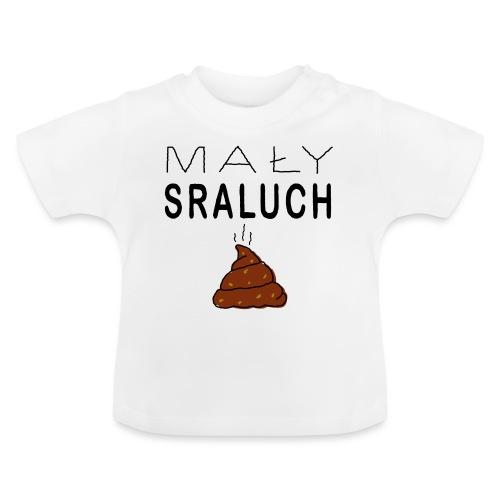 Mały sraluch - Koszulka niemowlęca