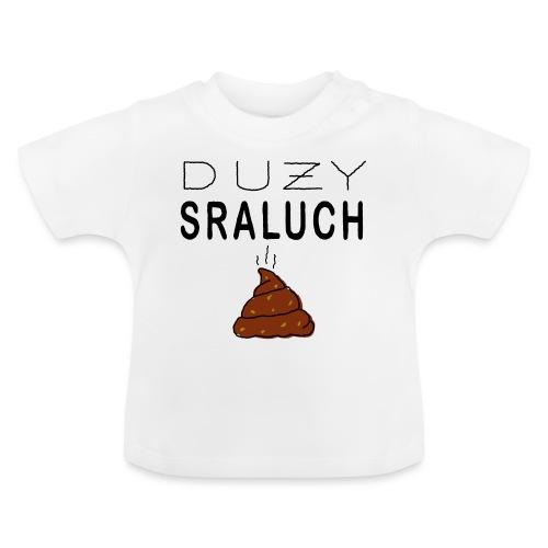 Duży sraluch - Koszulka niemowlęca