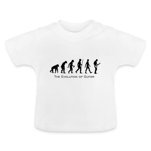 The Evolution Of Guitar - Camiseta bebé