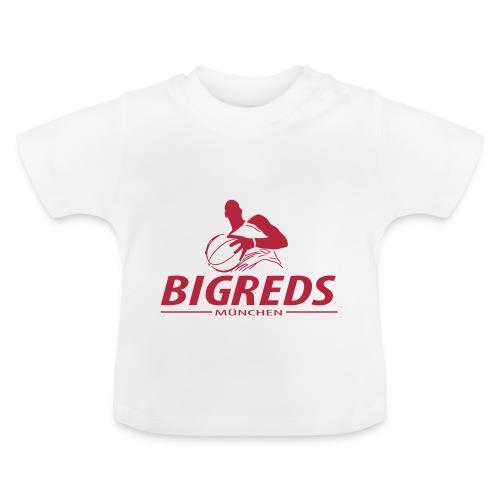 Bigreds Schrift mit Spie - Baby T-Shirt